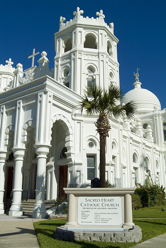 Sacred Heart Catholic Church, Historic District, Galveston, Texas, USA, North America