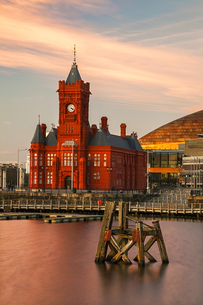 Pier Head, Cardiff Bay, Cardiff, Wales, United Kingdom, Europe