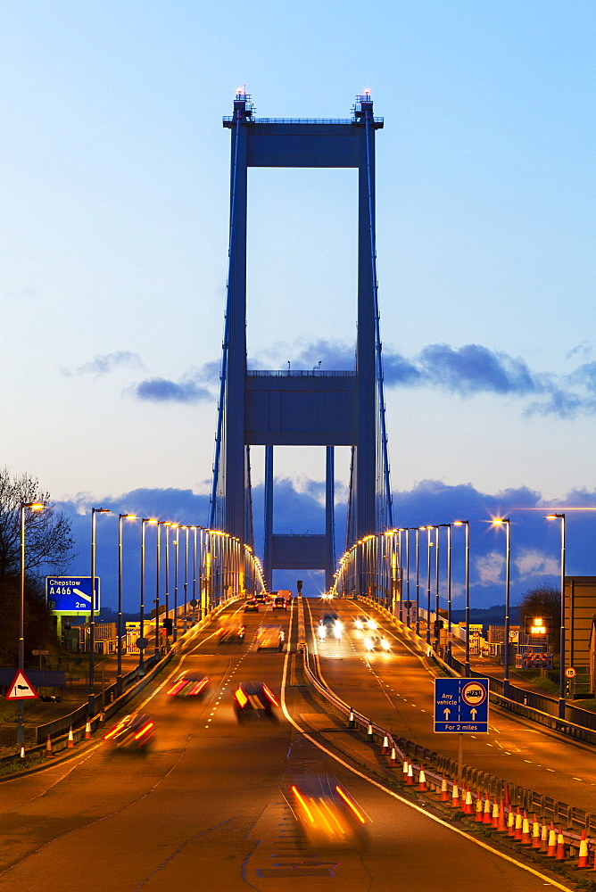 The First (Old) Severn Bridge, Avon, England, United Kingdom, Europe - 696-814
