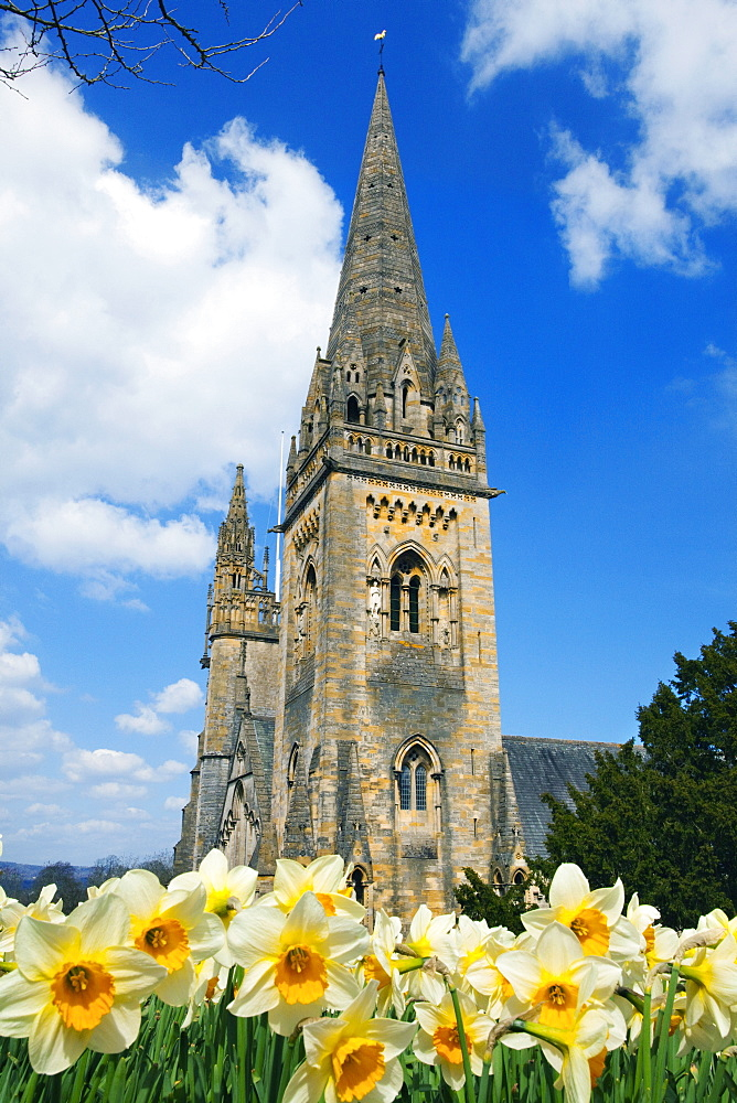 Llandaff Cathedral, Cardiff, Wales, United Kingdom, Europe - 696-855
