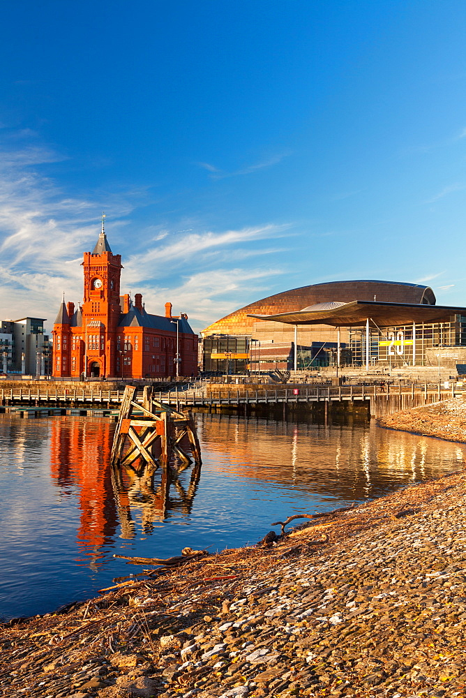 Cardiff Bay, Cardiff, Wales, United Kingdom, Europe - 696-894