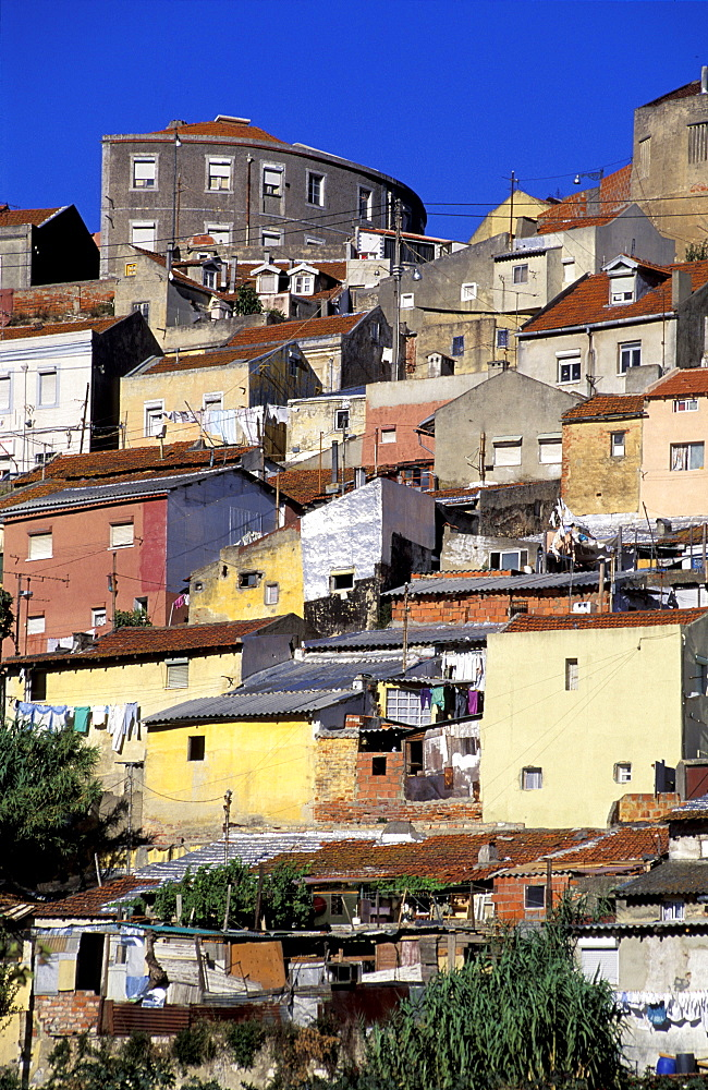 Portugal, Lisbon, Working Class District