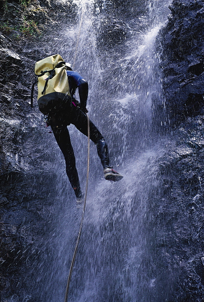Canyoning In Cilao, Reunion