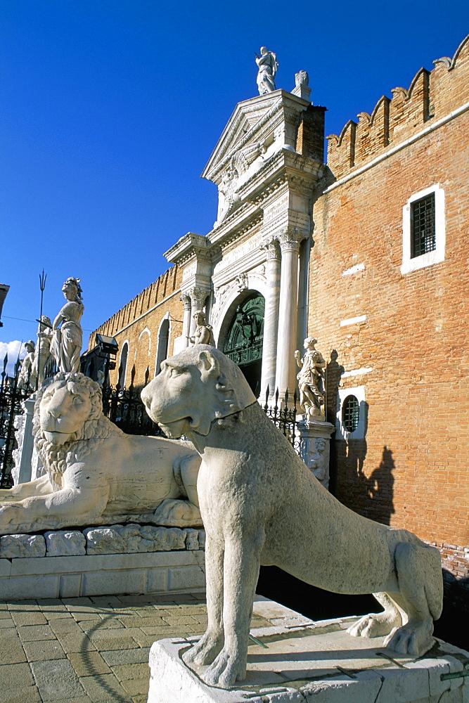Arsenale, Venice, Veneto, Italy, Europe