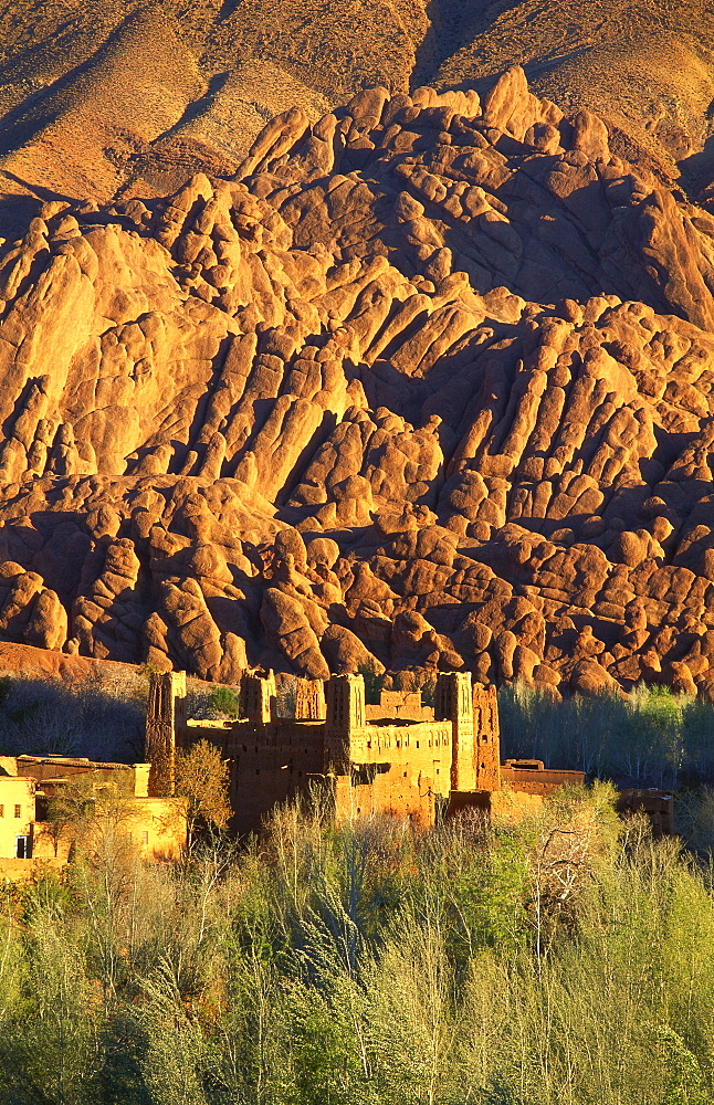 Ruin Fortress, Dades Valley, Morocco