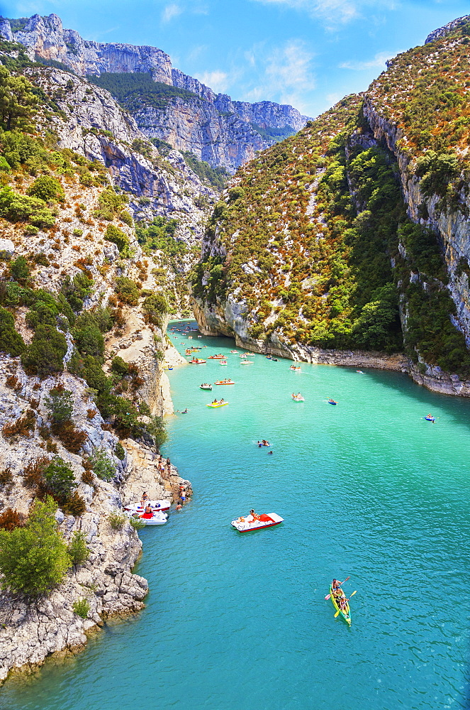 Lake St. Croix, Gorges du Verdon, Provence-Alpes-Cote d'Azur, Provence, France, Europe - 718-2209