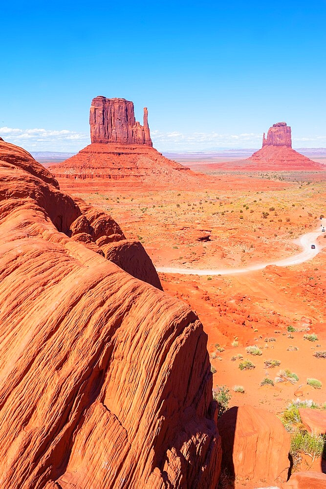 Monument Valley, Arizona, United States of America, North America - 718-2618