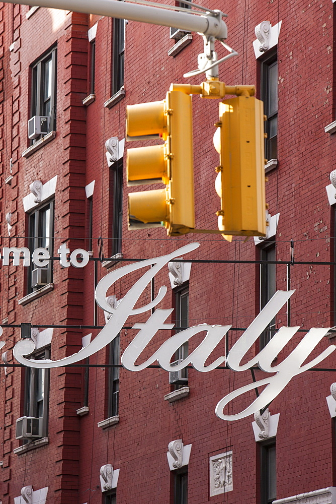 Little Italy, New York, United States of America, North America