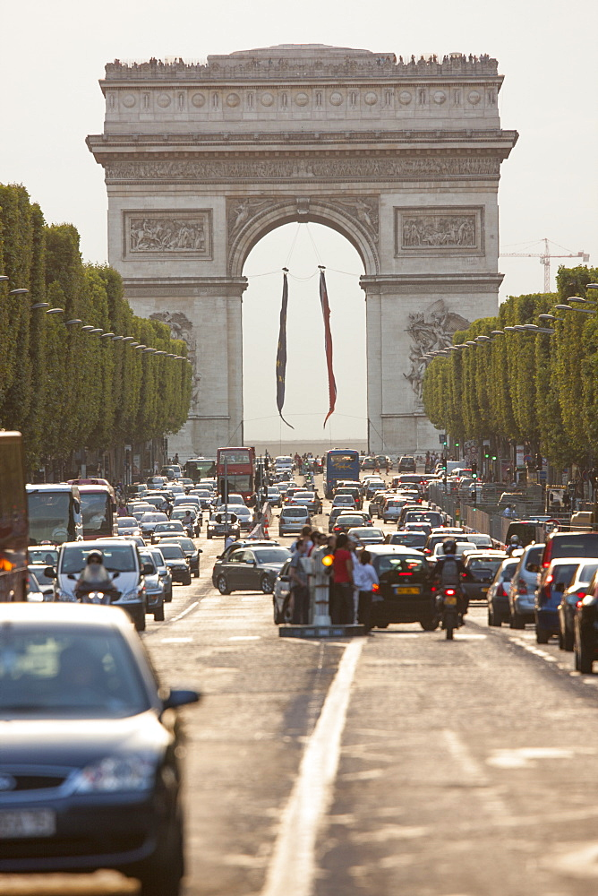 Arc de Triomphe, Paris, France, Europe - 728-6407