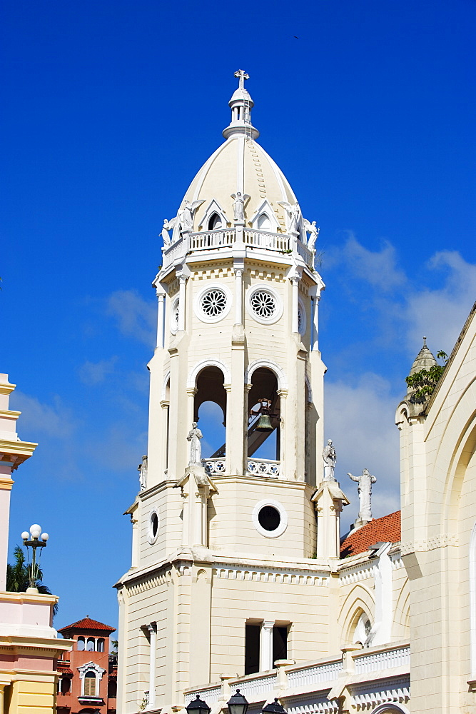 Church of San Francisco, historical old town, UNESCO World Heritage Site, Panama City, Panama, Central America