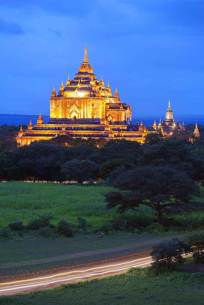 Thatbyinnyu Pahto temple, Bagan (Pagan), Myanmar (Burma), Asia
