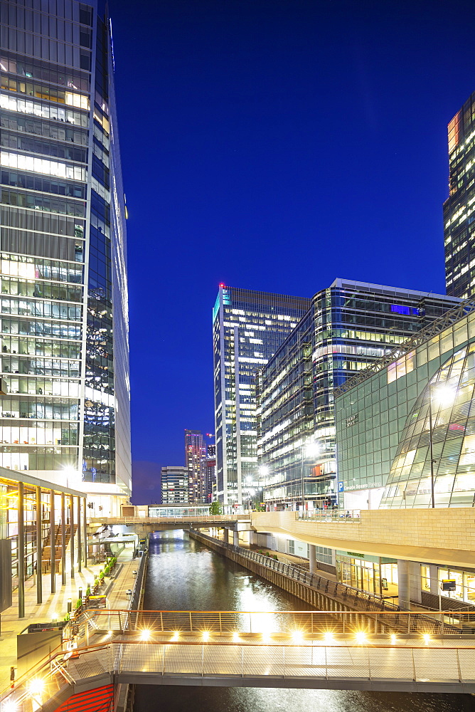 Europe, United Kingdom, England, London, Docklands, Canary Wharf