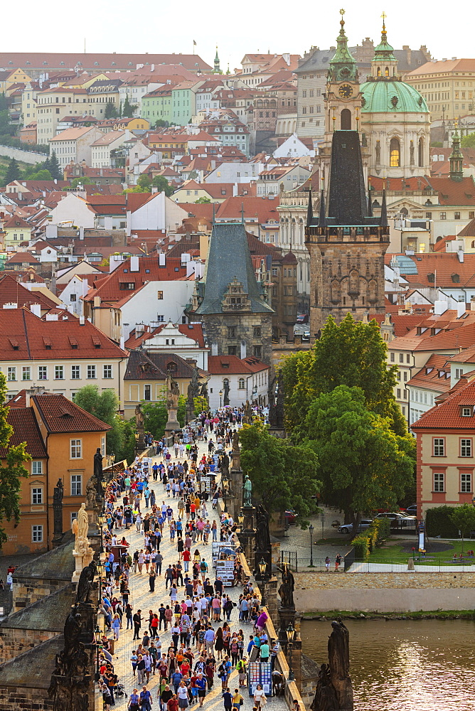 Europe, Czech Republic, Bohemia, Prague, Unesco site, Charles bridge