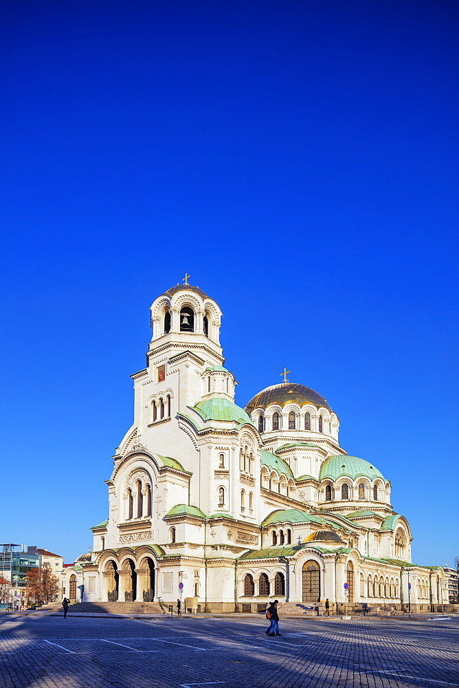 Europe, Bulgaria Sofia, Alexander Nevsky Orthodox Cathedral - 733-8398
