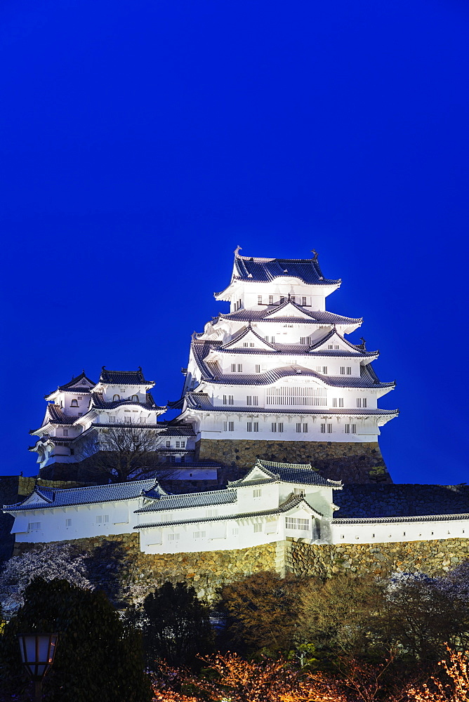 Asia, Japan, Hyogo, 17th century Himeji Castle, Unesco site
