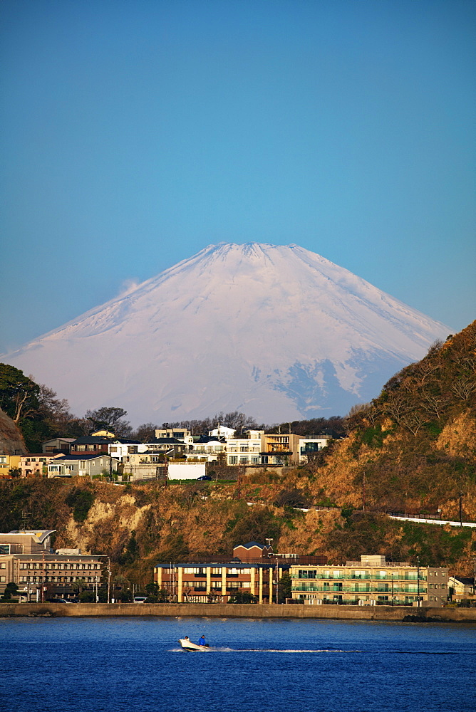 Mount Fuji, 3776m, UNESCO World Heritage Site, Kanagawa Prefecture, Honshu, Japan, Asia