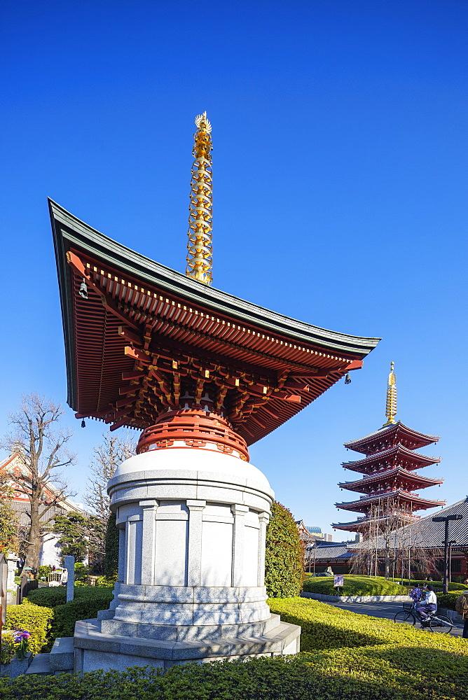 Sensoji Temple, Asakusa, Tokyo, Japan, Asia