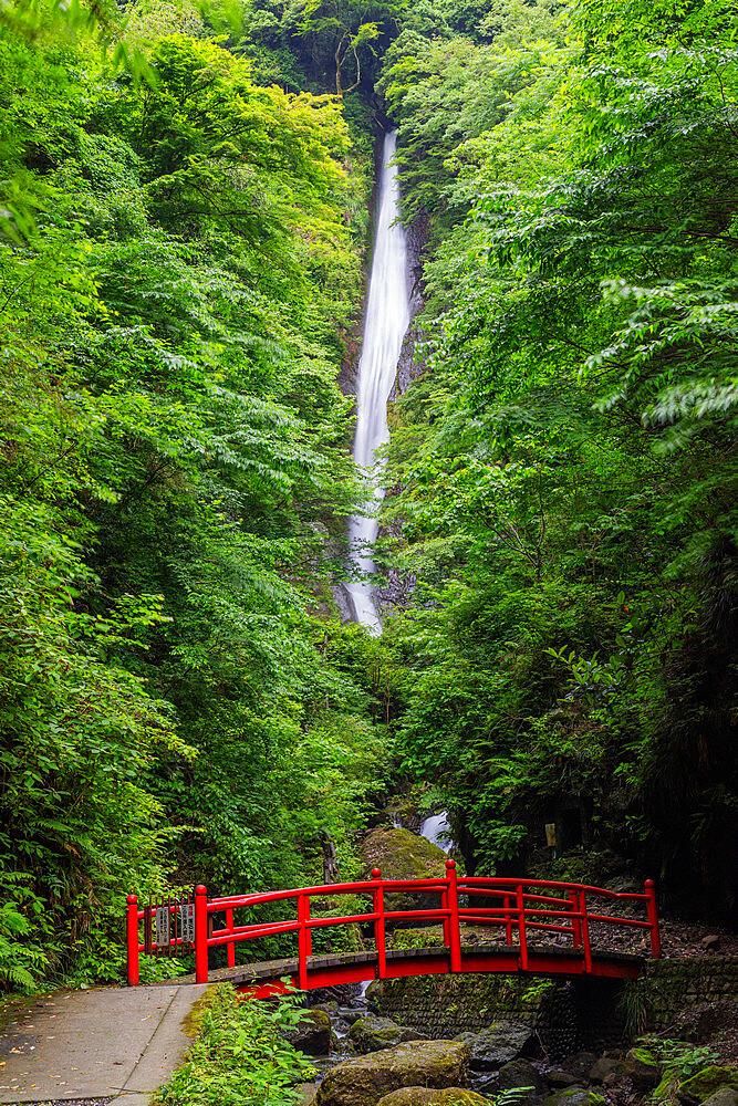 Japan, Honshu, Kanagawa Prefecture, Tanzawa River, Shasui falls