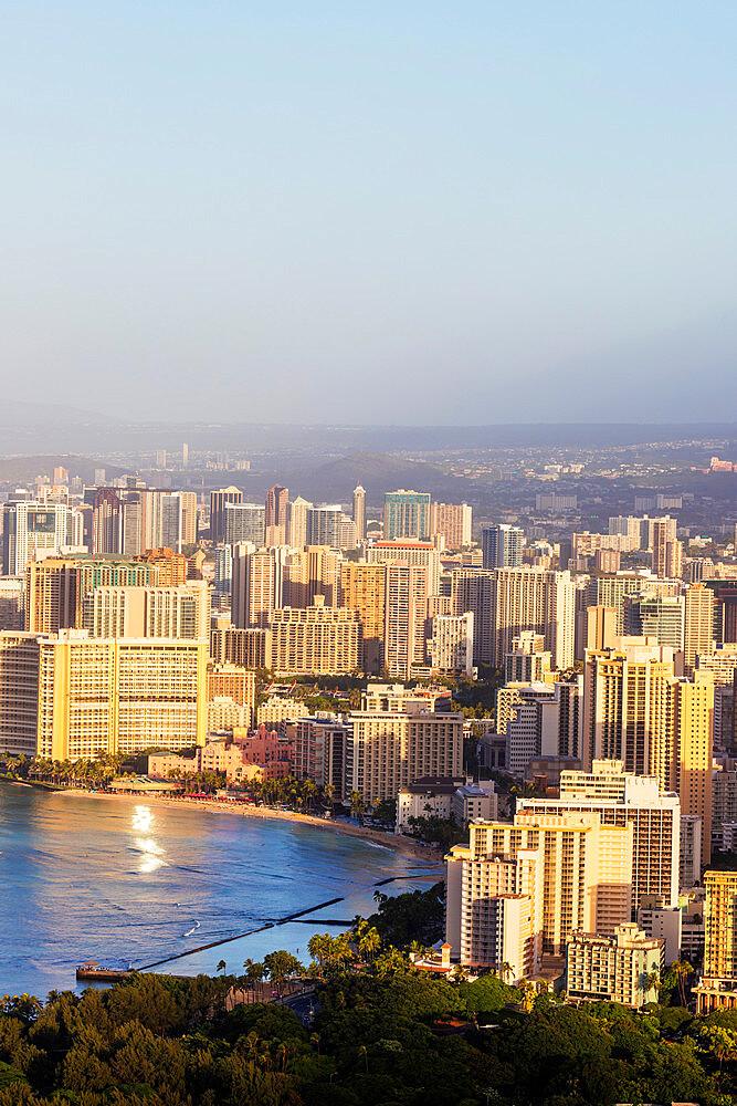 United States of America, Hawaii, Oahu island, Honolulu, Waikiki - 733-9004