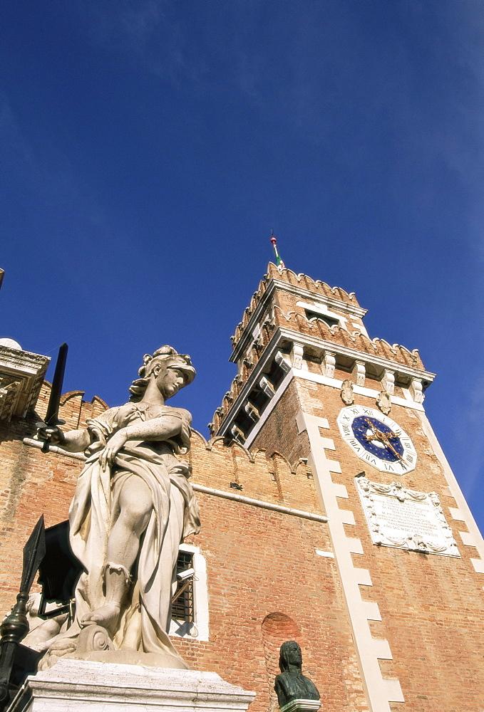 The Arsenal, Venice, Veneto, Italy, Europe