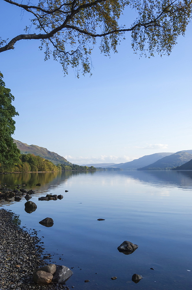 Ullswater, Lake District National Park, UNESCO World Heritage Site, Cumbria, England, United Kingdom, Europe - 747-1997