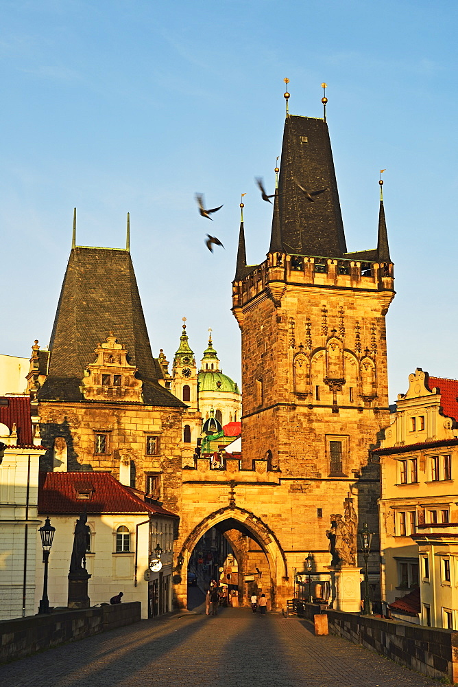 Charles Bridge, Prague, Czech Republic, Europe - 756-2772
