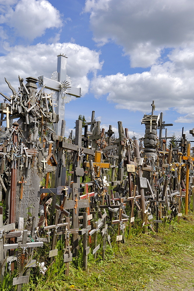 Hill of Crosses, near Siauliai, Lithuania, Baltic States, Europe
