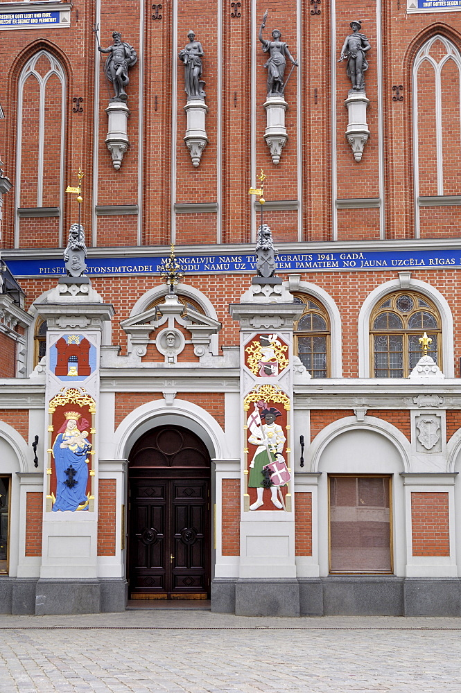 House of the Blackheads, Ratslaukums (Town Hall Square), Riga, Latvia, Baltic States, Europe