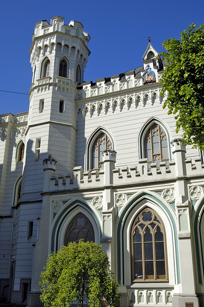 Maza Gilde (Small Guild of St. Mary's), Livu lakums (Livu Square), Riga, Latvia, Baltic States, Europe - 762-128