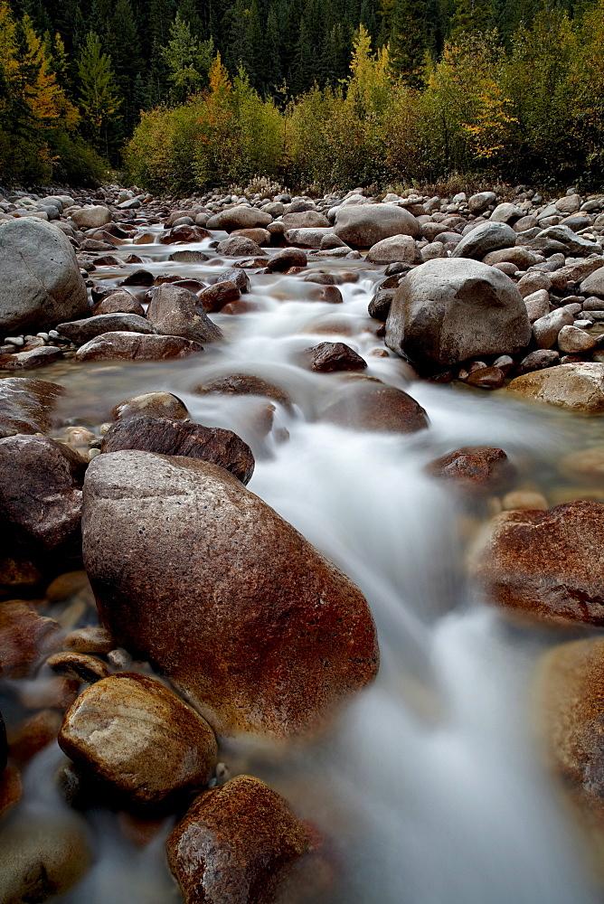 Astoria River, Jasper National Park, UNESCO World Heritage Site, Alberta, Canada, North America