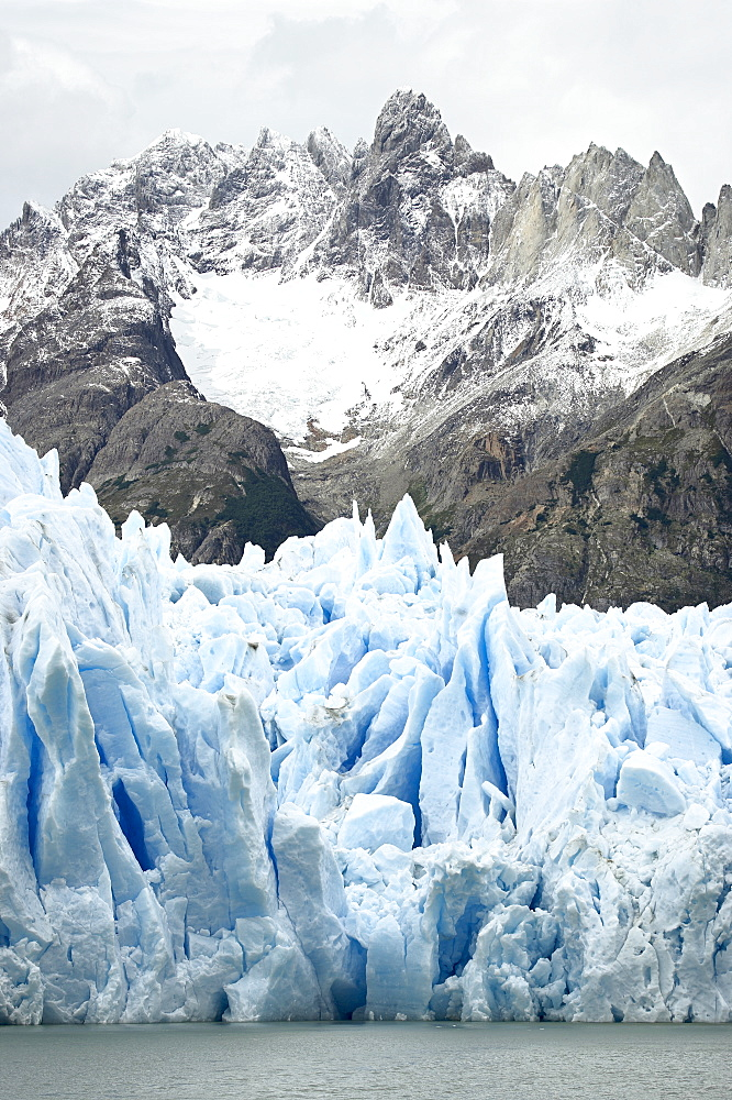 Grey Glacier, Torres del Paine National Park, Patagonia, Chile, South America