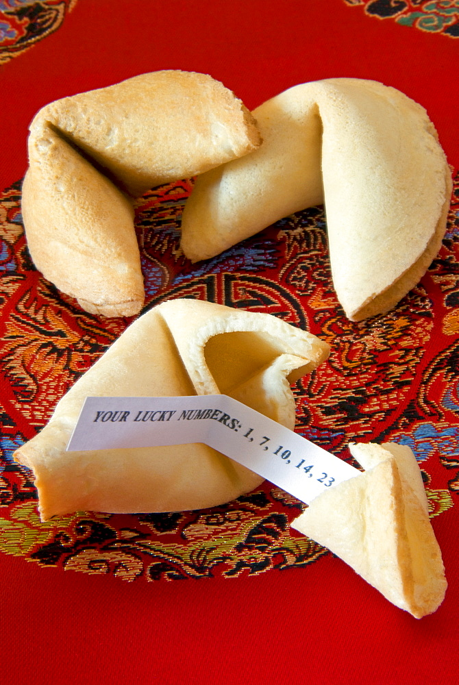 Fortune cookies, China, Asia