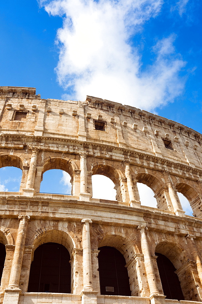 Colosseum or Flavian Amphitheatre, Rome, Unesco World Heritage Site, Latium, Italy, Europe - 765-1956