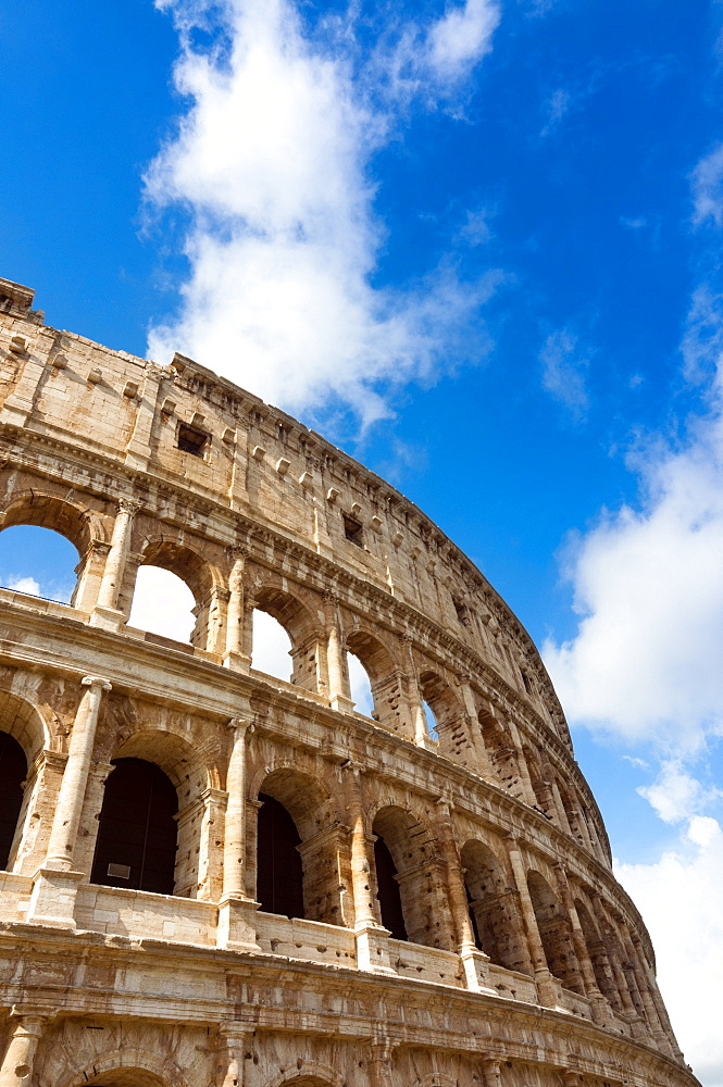 Colosseum or Flavian Amphitheatre, Rome, Unesco World Heritage Site, Latium, Italy, Europe - 765-1957