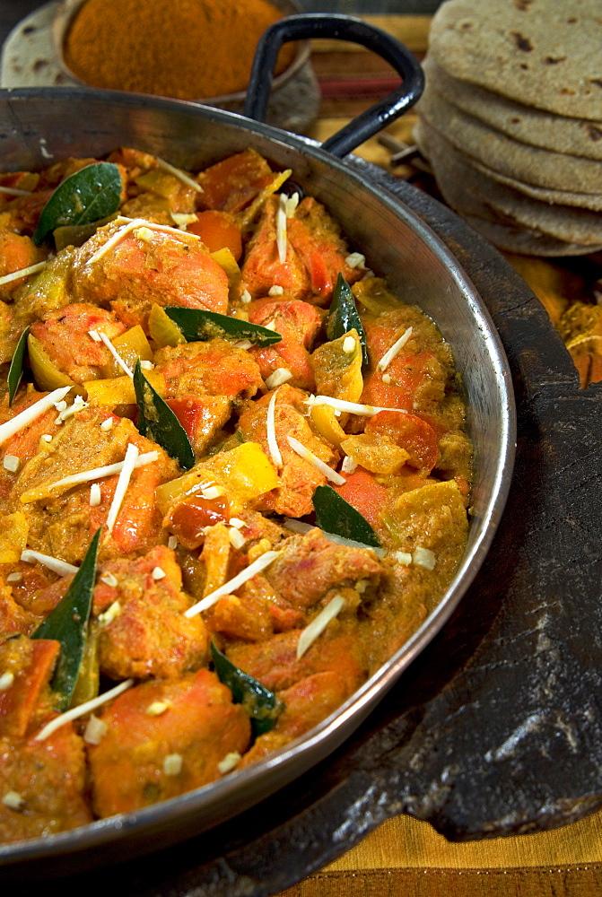 Indian food, chicken tikka masala, India, Asia