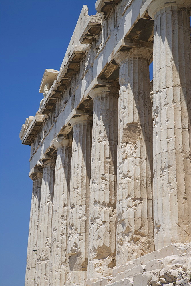The Parthenon, Acropolis, UNESCO World Heritage Site, Athens, Greece, Europe