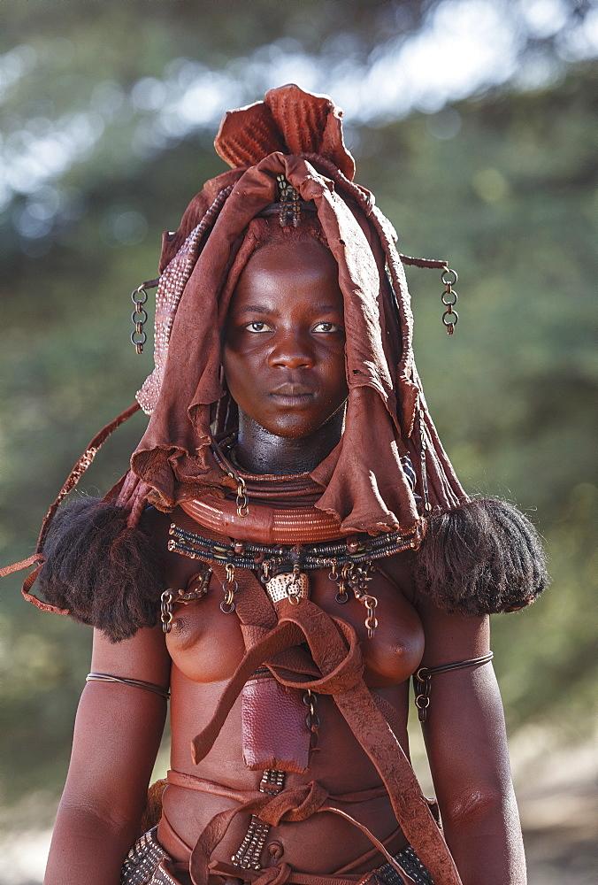 Himba woman, Kaokoland, Namibia, Africa - 772-3634