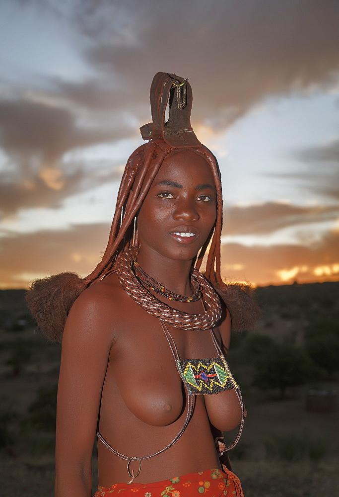 Himba woman, Kaokoland, Namibia, Africa - 772-3645