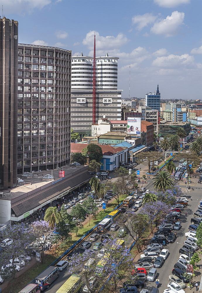 Kenyatta Avenue, Nairobi, Kenya, East Africa, Africa - 772-3737