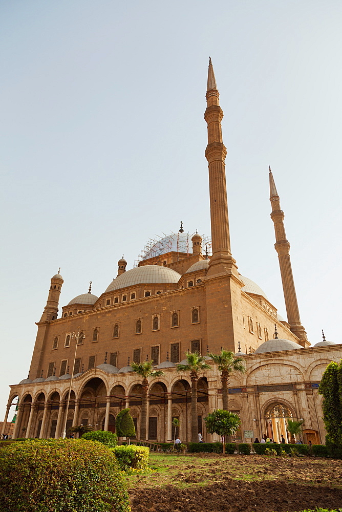The Mosque of Mohammed Ali in Cairo, Egypt, North Africa, Africa