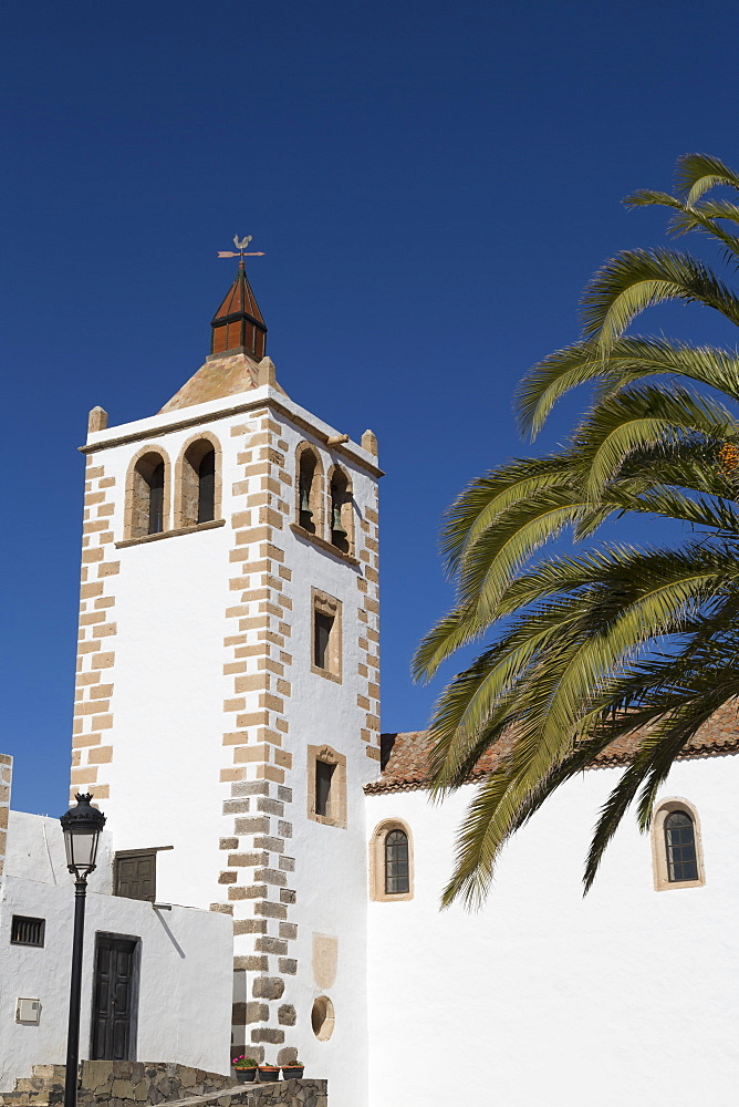 Church of Santa Maria in the small town of Betancuria on the volcanic island of Fuerteventura, Canary Islands, Spain, Atlantic, Europe - 785-2302