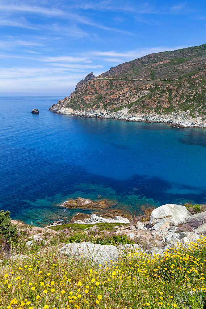 The rugged coastline of Cap Corse, the most northerly point of Corsica - 785-2382