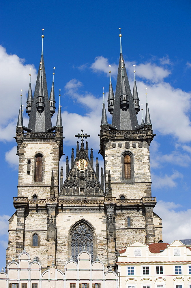 Church of Our Lady before Tyn, Old Town Square, Old Town, Prague, Czech Republic, Europe