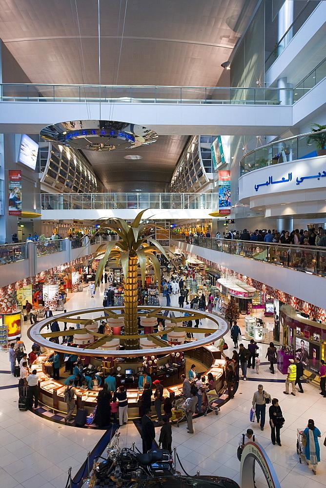 Interior, Dubai International Airport, Dubai, United Arab Emirates, Middle East