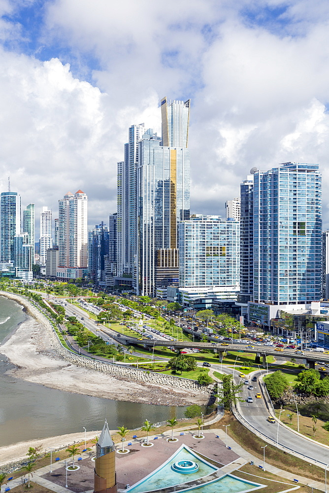 City skyline, Panama City, Panama, Central America - 794-4529