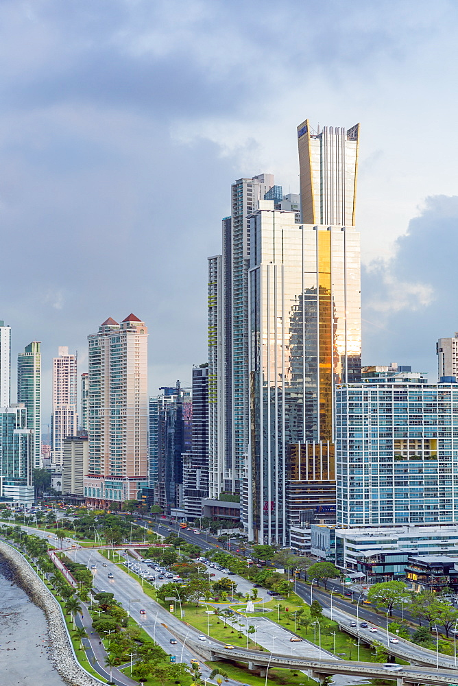 City skyline, Panama City, Panama, Central America - 794-4540