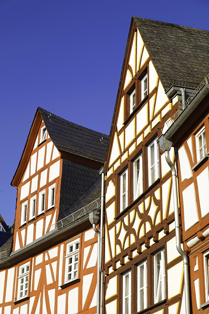 Half-timbered buildings, Limburg (Limburg an der Lahn), Hesse, Germany, Europe