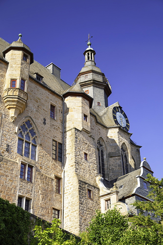 Landgrafenschloss, Marburg, Hesse, Germany - 800-3572