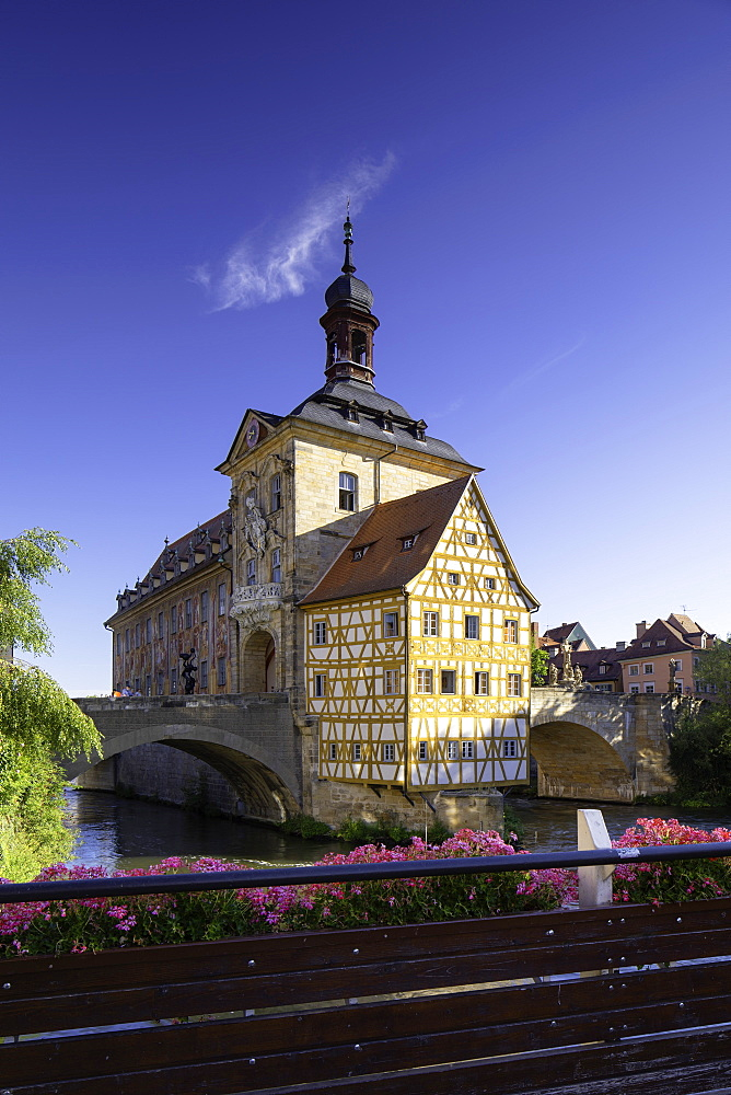 Altes Rathaus (Old Town Hall), Bamberg, UNESCO World Heritage Site, Bavaria, Germany, Europe - 800-3602