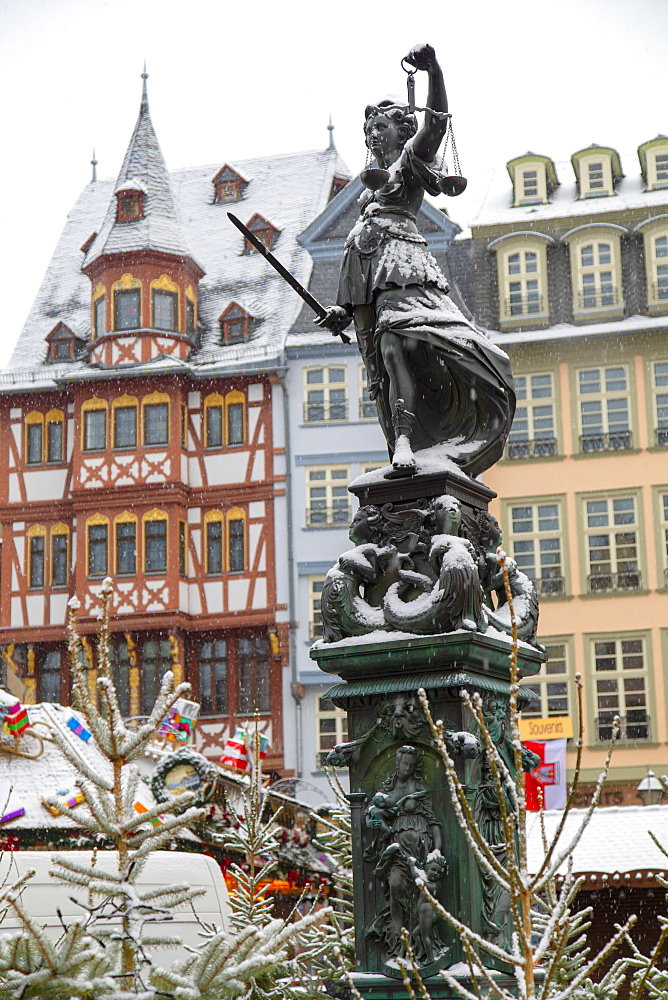 Frankfurt Christmas Market, Frankfurt am Main, Hesse, Germany - 800-3676